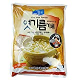 ROM AMERICA Korean Coarse Dry Malt Barley Powder Diastatic 1kg [ 2.2 lb ] for Shikhye  Red Hot Pepper Past 엿기름