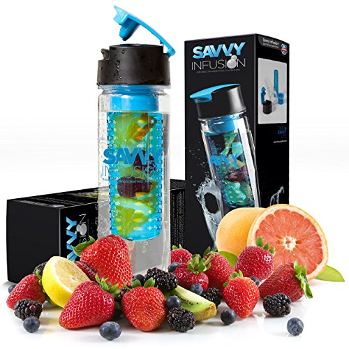 Savvy-Infusion-Flip-Top-Sport-Infuser-Water-Bottle-Enjoy-Delicious-Fruit-Infused-Beverages-Leak-Proof-Tritan-Travel-Tumbler-Perfect-Infusing-and-Detox-Bottle-for-Sports-Fitness-Enthusiasts