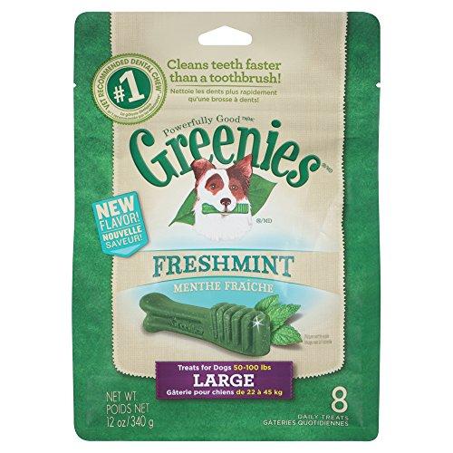 Greenies Freshmint Dog Dental Chew Large