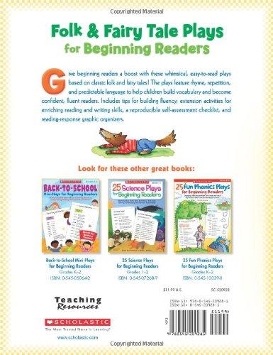 Amazon.com: Folk & Fairy Tale Plays for Beginning Readers: 14 ...