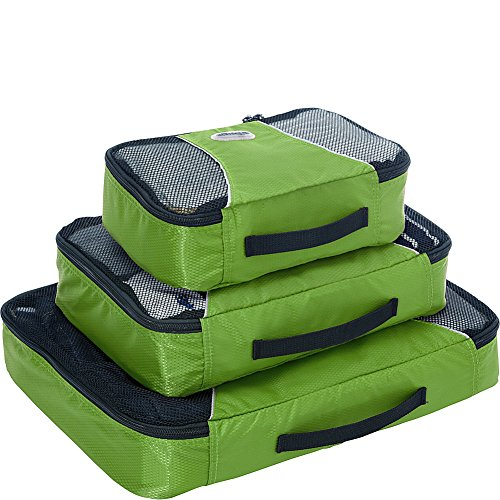 eBags Packing Cubes - 3pc Set (Grasshopper)