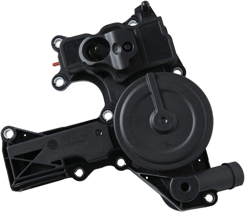 RAYC 06H103495E PCV Valve Engine Crankcase Vent Valve Oil Separator for Audi VW