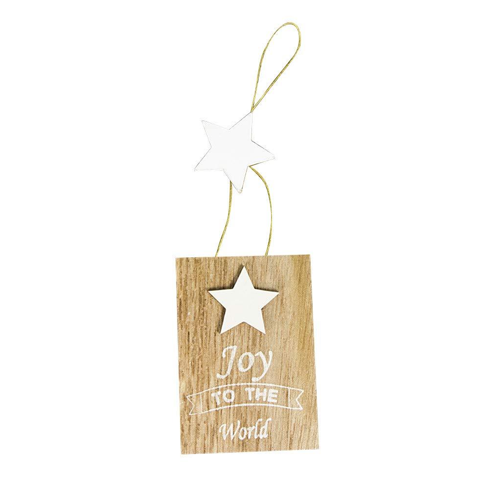 Twocc-Navidad, Carta de Navidad de Madera, Garabato, Letrero de ...