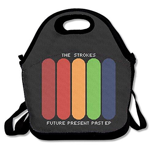 100-polyester-the-strokes-logo-multifunction-reusable-snack-bag-handbag-lunch-tote