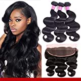 Best Hair Bundles With Free Parts - Brazilian Body Wave Bundles with Frontal Review