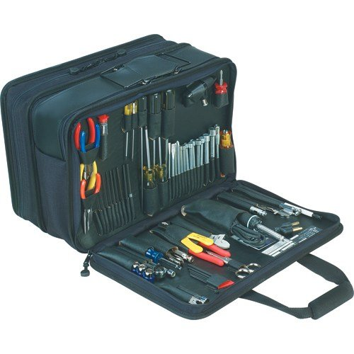 Jensen Tools JTK-19 3-Sided Toolkit, Triple Black Cordura by Jensen