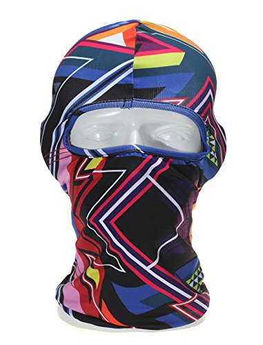 KAITUO Balaclava Face Mask Windproof Breathable Elastic Cool Fabric Hood For Outdoor Sports Ski Fishing Hunting Hiking Cycling Helmet Liner XH-04 (04 Ski)