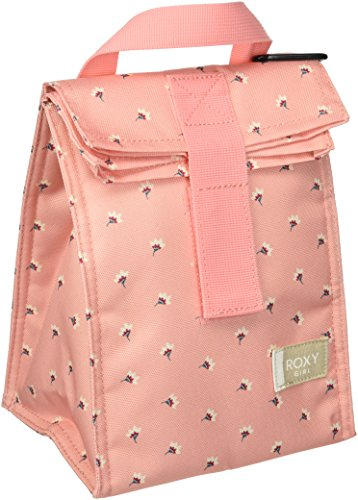 Roxy Junior's Hour Lunch Bag, PEACHES N CREAM FLOWER TWIST, 1SZ (Roxy Skate Shoes)