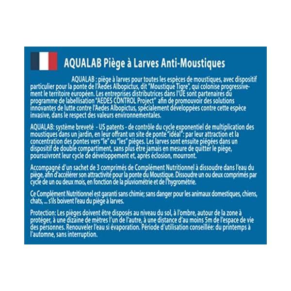 HBM 005-PR-PGE005 AquaLab larve trappole Anti-zanzare, da assemblare, in resina, trasparente, 60 x 35 x 45 cm confezione… 2 spesavip