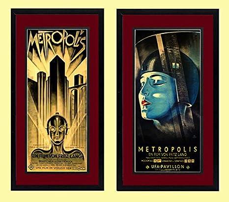 Amazon.com: Metropolis – Fritz Lang Película Framed de ...