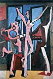 Oil Painting 'Pablo Picasso - The Three Dancers, 1925', 24 x 36 inch / 61 x 92 cm , on High Definition HD canvas prints is for Gifts And Bath Room, Bed Room And Study Room Decoration, own