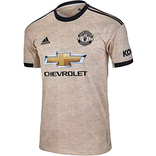 adidas Men's Manchester United Away Jersey 2019-20 (X-Large) Linen ()