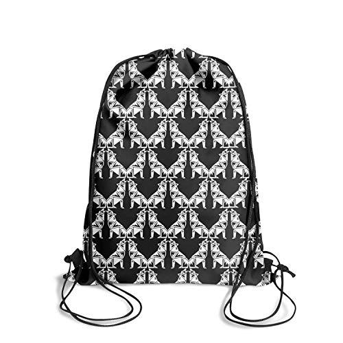 Sbndghyjj8 Basketball String Drawstring Backpack Gym Designer Best Bookbags Best ()