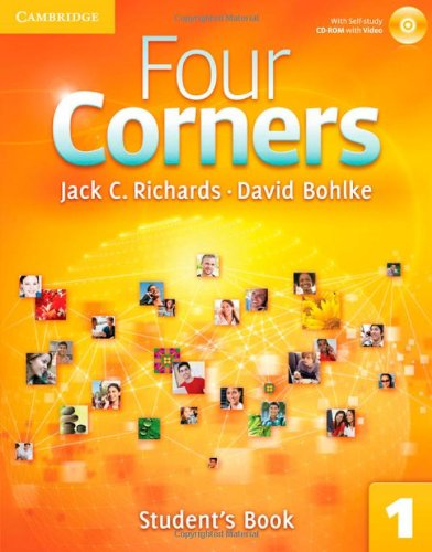 Four Corners Level 1 Full Contact with Self-study CD-ROM: Four Corners Student's Book 1 [With CDROM]