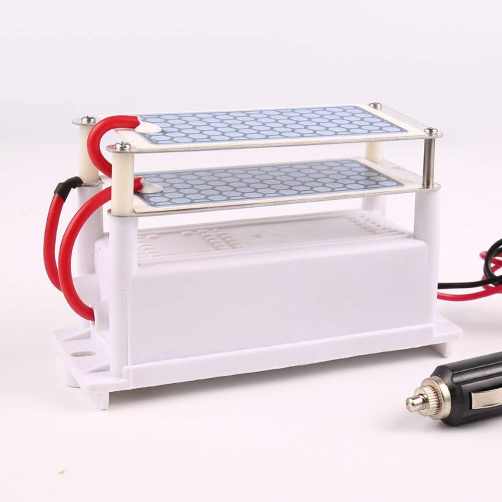 Aoile DC12V10GC generador de ozono de coche purificador de aire Ozonizer placa de cer/ámica esterilizador de aire