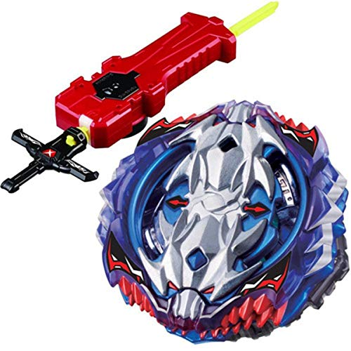 (Sword Launcher Bey Burst Blade Evolution Bey Battle Booster Starter Gyro Bay Launcher Grip Kit B-118 Vol.11-1 Vise Leopard .12L.Ds Games Toy Bey Set Battling Tops Novelty Spinning Toys Gift for Boys)