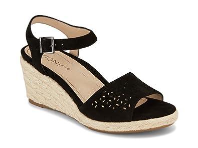 0a726ca899c6b Vionic Women's Tulum Ariel Wedge Sandal - Ladies Sandals Concealed Orthotic  Support
