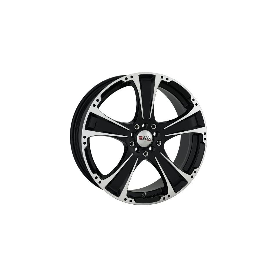 17x7 XXR 008 (Black w/ Machined Lip) Wheels/Rims 4x100/114.3 (877082) Automotive