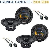 Hyundai Santa Fe 2001-2006 Factory Speaker Replacement Harmony (2) R65 Package
