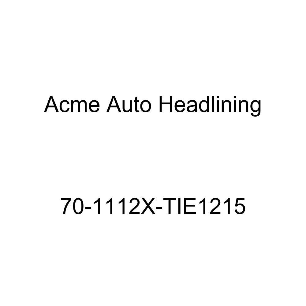 Acme Auto Headlining 70-1112X-TIE1215 Turquoise Replacement Headliner Conversion 70 Buick Electra 2 Dr Hardtop w//Original Board Headliner