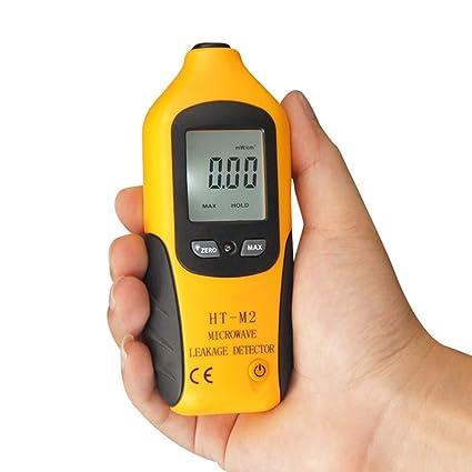 Highbeastbe Detector de Radiación de Fuga de Microondas de LCD Digital de Alta Precisión HT-