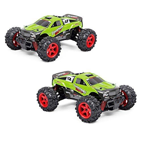 EchoAcc-RC-Coches-Campo-a-Travs-4×4-Elctrico-RC-Camiones-de-40-kmh-de-Alta-Velocidad-124-50M-Remoto-40-Minutos-de-Tiempo-de-Coche-de-Juguete-de-Control-Remoto-de-Camiones-Carrera-Rpida-24-GHz-Juegos-e