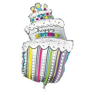 Unique Party- Birthday Cake Globo tarta de cumpleaños ...