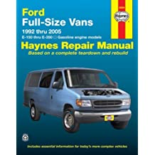 Amazon haynes repair manual books ford full size vans 1992 thru 2005 e 150 thru e 350 fandeluxe Image collections