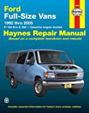 img - for Ford Full-Size Vans 1992 thru 2005: E-150 thru E-350, All gasoline engine models (Haynes Repair Manuals) book / textbook / text book