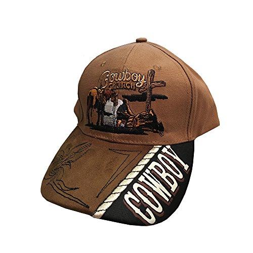 Western Fashion Accessories Cowboy Church Ballcap -