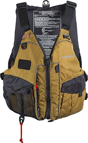 Extrasport Elevate Life Jacket, Tan, Universal