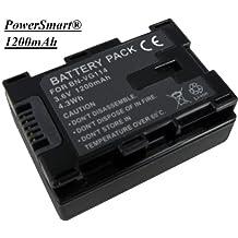 PowerSmart\xae 1200mAh BN-VG107E, BN-VG107U battery for JVC GZ-MS250BU,GZ-MS250BUS