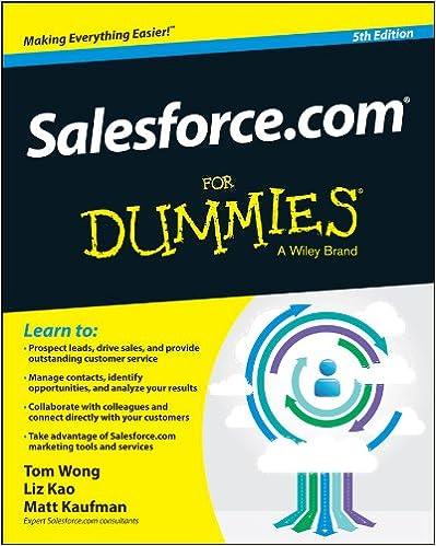 Amazon salesforce for dummies for dummies series ebook amazon salesforce for dummies for dummies series ebook tom wong liz kao matt kaufman kindle store fandeluxe Epub