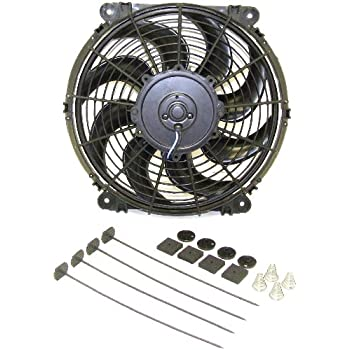 Hayden 3680 - Rapid-Cool Universal Fit Reversible Fan Kit