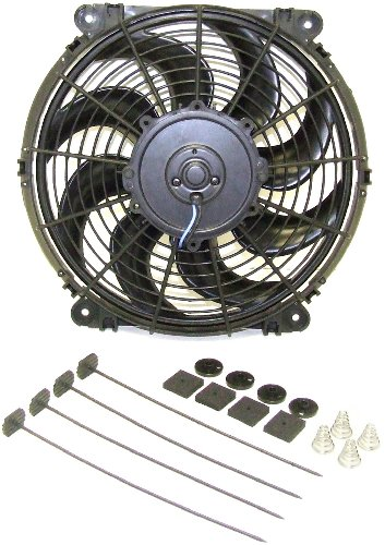 F10 1976 Nissan Engine (Hayden Automotive 3680 Rapid-Cool Thin-Line Electric Fan)