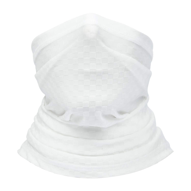 BINMEFVN Summer Bandana Face Mask -Dust Sun UV Protection Neck Gaiter - for Outdoor Hiking & Motorcycling & Cycling