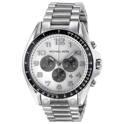 Michael Kors MK8254 - Reloj, Correa de Acero Inoxidable Color Plateado: Michael Kors: Amazon.es: Relojes