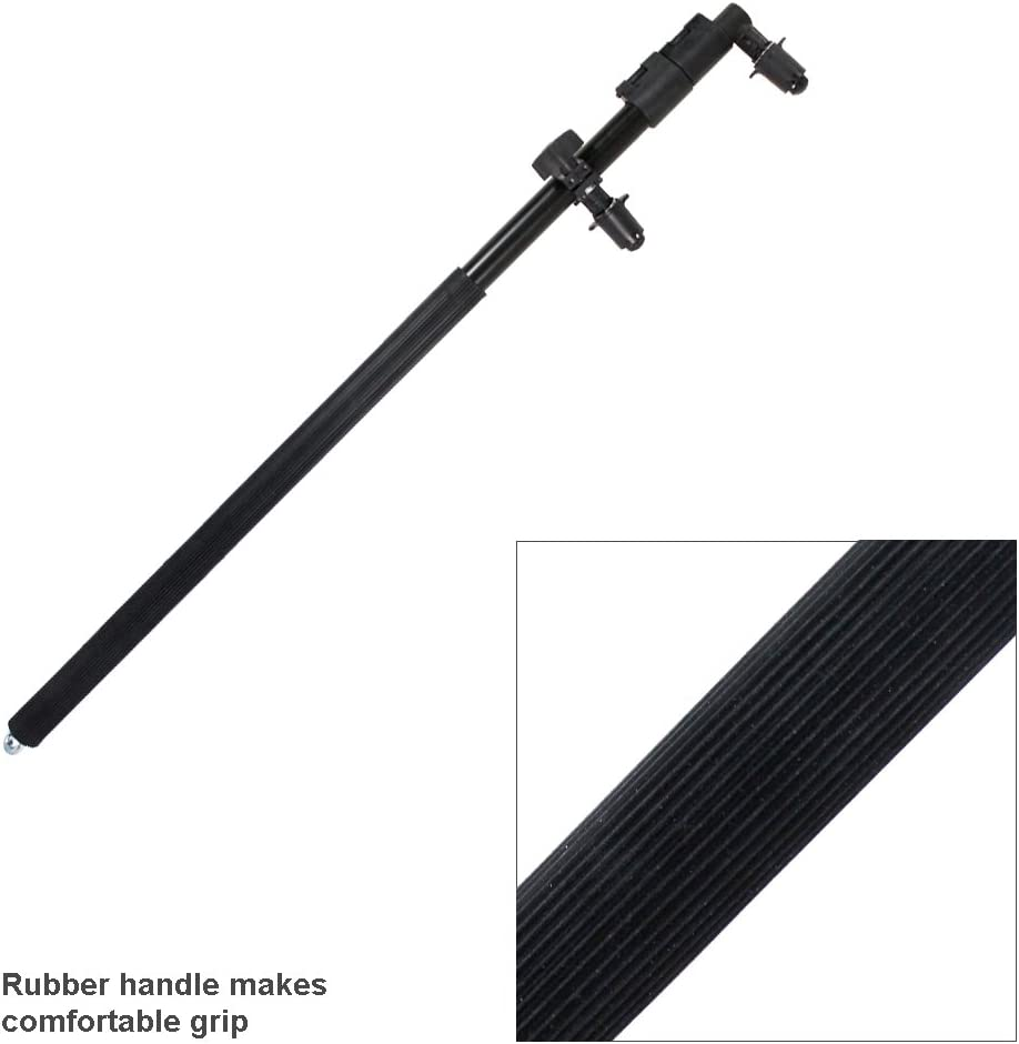 AGG2517 LimoStudio Extendable Photo Studio Lighting Reflector Holder Bracket Bar with Rubber Handle Grip