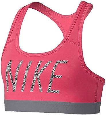 Nike G NP Bra Logo Strap GFX AOP3 - Sujetador Deportivo, Niña ...