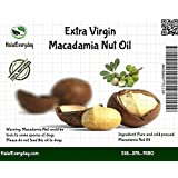 Macadamia Nuts Oil - 100% Pure and all Natural 16 Oz - 100% cold pressed - Vegan