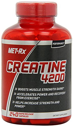 MET-Rx Creatine 4200 Diet Supplement Capsules, 960 Count Pack MET-Rx-y6 (Met Rx Creatine 4200 Diet Supplement Capsules)