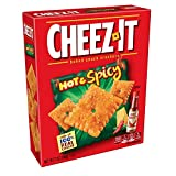 Cheez-It, Baked Snack Cheese Crackers, Hot & Spicy, Bulk Size, 84 oz (Pack of 12, 7 oz Boxes)