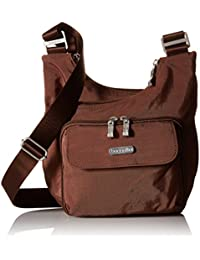 Criss Cross Bagg – Lightweight Travel Purse with Zippered Interior and Exterior Pockets
