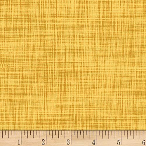 P & B Textiles Color Weave 4 Dark Yellow Fabric by The Yard -  204-CWE4-YY
