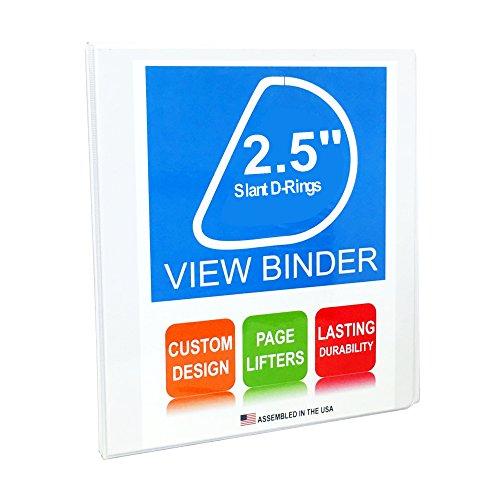 Spine Pocket (3 Ring Binder, 2.5