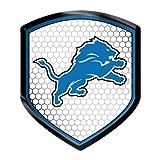 NFL Detroit Lions Reflector Decal