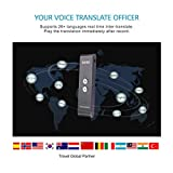 OXSII T1 Handheld Pocket Smart Voice Translator Real Time Speech Translation English Chinese Arabic Portuguese French German Spanish Russian Japanese 33+ Languages for Travel Business Shopping Meeting