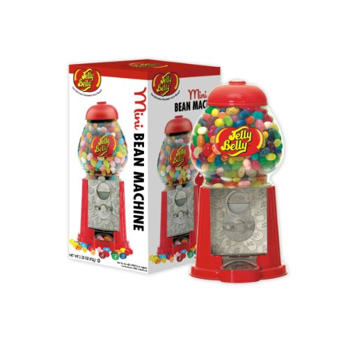- Jelly Belly Mini Bean Machine Jelly Bean Dispenser, Includes 3.25-oz of Jelly Belly Jelly Beans