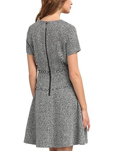 Mehrfarbig Schwarz creme Damen Kleid APART Fashion RwtqO6pF