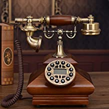Antique Retro Telephones Solid Wood Telephones Home Telephones Classical Telephones